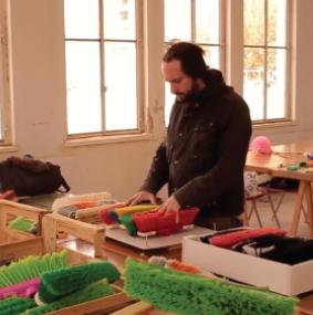 Gaspar Libedinsky: artista, arquitecto y curador en su espacio creativo