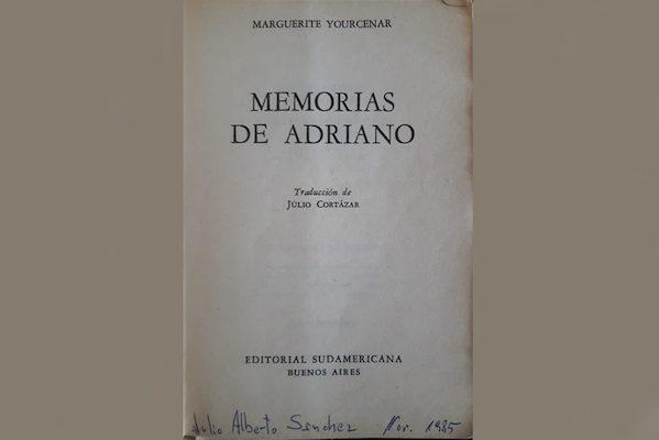 Julio Sánchez recomienda Memorias de Adriano, de Marguerite Yourcenar